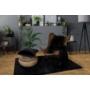 Kép 4/4 - Heaven 800 Fekete színű takaró / pléd