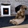 Kép 5/6 - Luxury 900 Barna színű takaró / pléd