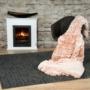 Kép 5/6 - Luxury 900 Pink mix színű takaró / pléd
