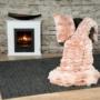 Kép 6/6 - Luxury 900 Pink mix színű takaró / pléd