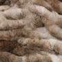 Kép 2/6 - Luxury 900 Barna színű takaró / pléd