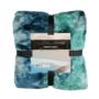 Kép 3/6 - Rumba 500 Kékes zöld mix színű takaró / pléd