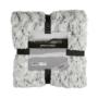 Kép 3/6 - Smooth 500 szürke és fekete színű takaró / pléd