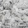 Kép 2/6 - Smooth 500 szürke és fekete színű takaró / pléd
