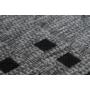 Kép 2/3 - Sunset 606 Ezüst Beltéri / Kültéri szőnyeg