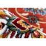 Kép 2/4 - Calssic 701 Rozsdabarna / Piros színű szőnyeg