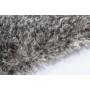 Kép 2/3 - Twist 600 Szürke Fehér szőnyeg
