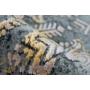 Kép 2/4 - Pierre Cardin Orsay 700 Szürke Sárga Szőnyeg